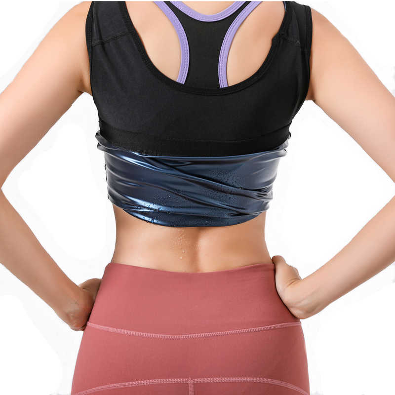 IFLOVE Camisa Adelgazante sin Mangas para Mujer Sauna Fitness P/érdida de Peso Cami Waist Cincher Vest Correas Ajustables