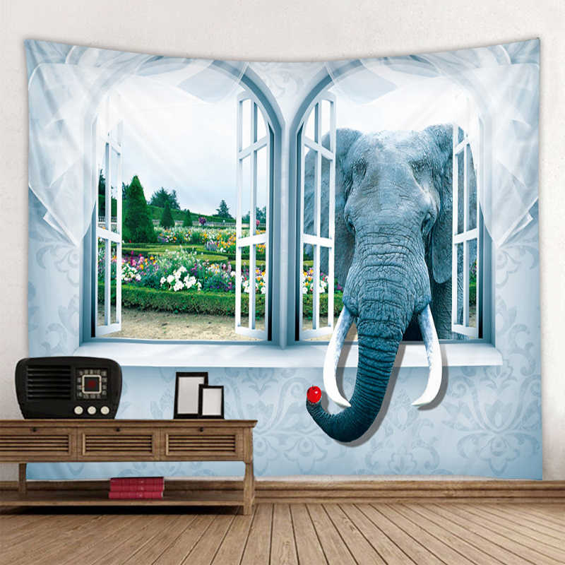 Bella 3D paesaggio marino di stampa hippie da parete della boemia arazzo da parete mandala decorazione della parete di arte