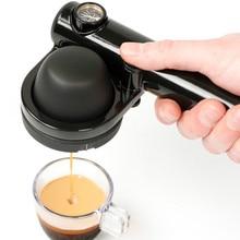 Портативная Кофеварка ручная Эспрессо машина кофе торт легко упаковывать Домашний Мини ручной давление кофейник путешествия на открытом воздухе