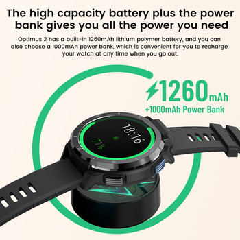Смарт-часы KOSPET Optimus 2 3