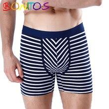 Bonitos boxer cueca masculina de algodão calcinha boxershorts para homem deslizamento calecon sexy masculino gay jockstrap calvin lot