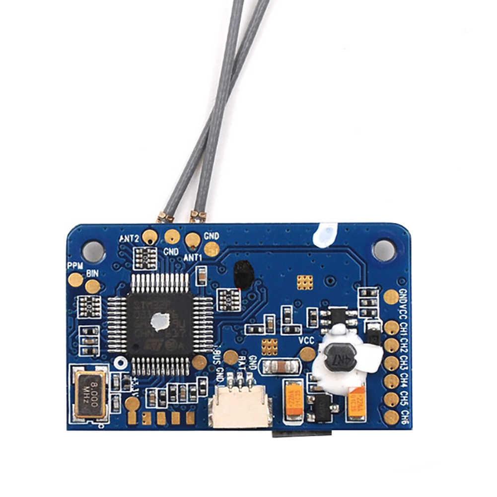 FS X6B 6 canales juguete de repuesto modelo FPV repuestos receptor Durable Mini transmisor RC Drone accesorios Antena