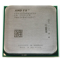 Amd fx-series fx 4100 quad-core fx4100 3.6ghz processador cpu fd4100wmw4kgu desktop soquete am3 +