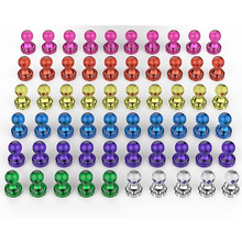 Color Magnets-Use Office School And Fridge Classroom At 7-Assorted Home 60pcs