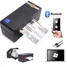 Impressora de código de barras térmica de 4 polegadas impressora de alta velocidade de grau comercial compatível com ebay usps impressora de código de barras 4x6