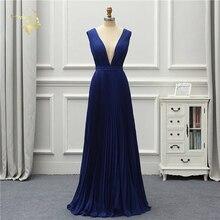 Jeanne Love Formal Evening Dress Simple New Arrival Low Cut Sexy Backless Elegant Party Robe De Soiree Vestido De Festa OL5222