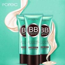 ROREC Face BB Moisturizer Natural Flawless Pore Cover & CC Creams Base Liquid Foundation Oil-control Makeup Concealer