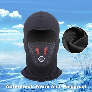 Cold Weather Windproof Thermal Fleece Neck Warm Balaclava Waterproof FaceMask 1