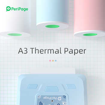 PeriPage Thermal Paper label Paper Sticker Paper For Thermal Pocket Mini Printer A3 - DISCOUNT ITEM  35 OFF Education & Office Supplies