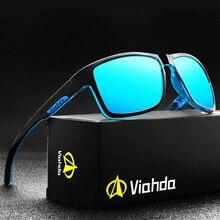 Viahda 2020 スポーツ偏光サングラスメンズ屋外駆動女性のファッション男性眼鏡