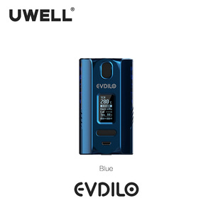 Image 3 - UWELL Evdilo Box Mod 200W Support Dual 18650 20700 21700 Batteries Fast Firing Fit for Valyrian II Tank E cigarette Vape Mod