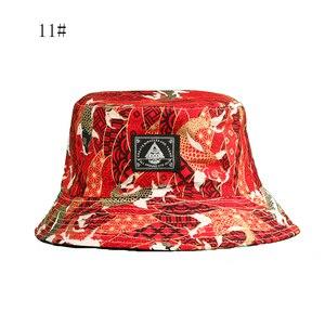 Лидер продаж, двухсторонняя шляпа в рыбацком стиле с пандой, Женская парусная лодка, дизайн пивной рыбы, двусторонняя Боевая шляпа, мужская ...
