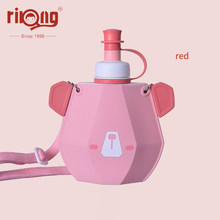 Rikang Children Cup Straw Bottles BPA Free Cartoon Cup Leak-proof Straw Bottle Portable Sport Kettle for Kids sippy cup(China)
