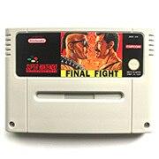 Final Fight 16bit oyun kartuşu pal konsolu