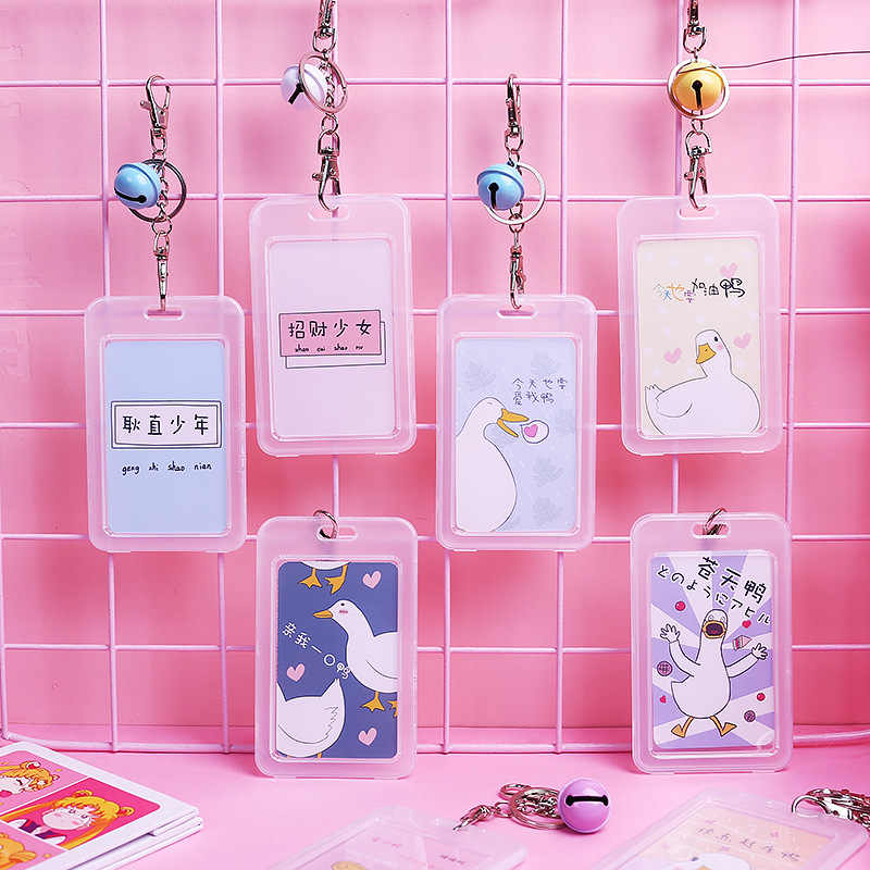 Details about  /Women Animal PVC Credit Cute ID Business Cards Passport Card Holder Protector