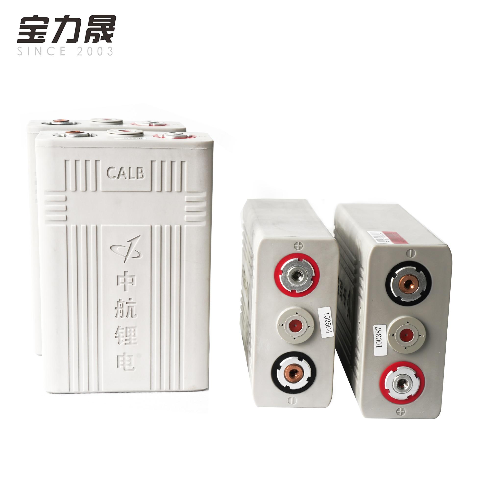 4 pièces 3.2v100ah Lifepo4 batterie CALB cellule en plastique CA100 12V100aH batterie haute capacité pour moto