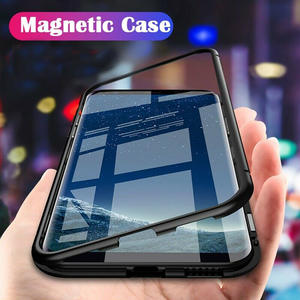 Metal-Case Coque Phone-Protective-Cover Note S7-Edge Magnetic Adsorption Samsung Galaxy