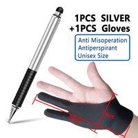 Silver add Gloves