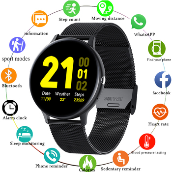 LIGE Smart Watch Men Women IP68 Waterproof Multiple Sports Mode Heart Rate Bluetooth Call Men Smartwatch For Huawei Xiaomi IOS 1