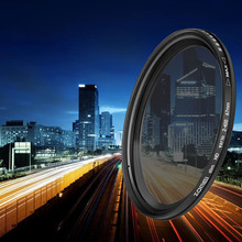 ZOMEI fotoğraf ND filtre ayarlanabilir nötr yoğunluk Fader Ultra ince filtre ND2 400 kamera Lens için