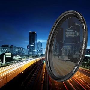 Image 1 - ZOMEI photographie ND filtre réglable densité neutre Fader Ultra mince filtre ND2 400 pour objectif de caméra