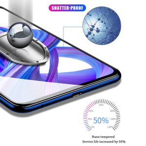 Image 4 - VALAM Tempered Glass Screen Protector For Huawei P smart Z 2019 Full Cover Glass For huawei P smart 2019 plus Z Protective Glass