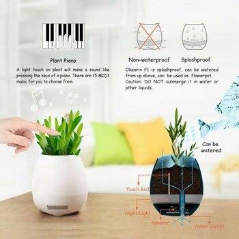 Smart Bloempot Tuin Kruid Potplanten Bloem Hydrocultuur Sensor Bluetooth Speaker Pot Home Decor Doos Stereo Decoratieve