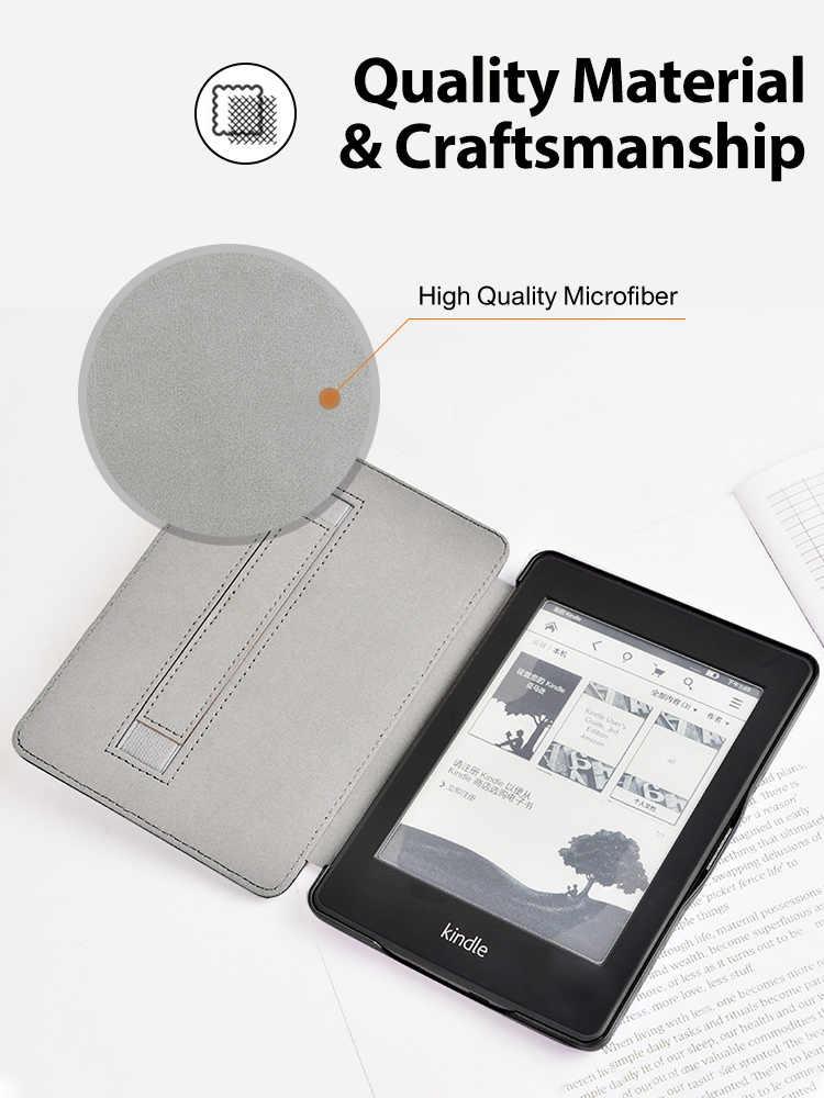 Pokrowiec na Amazon Kindle Paperwhite 4 PU skórzany pokrowiec na Kindle Paperwhite 4 10. Generacji 2018 e-book funda capa + prezent
