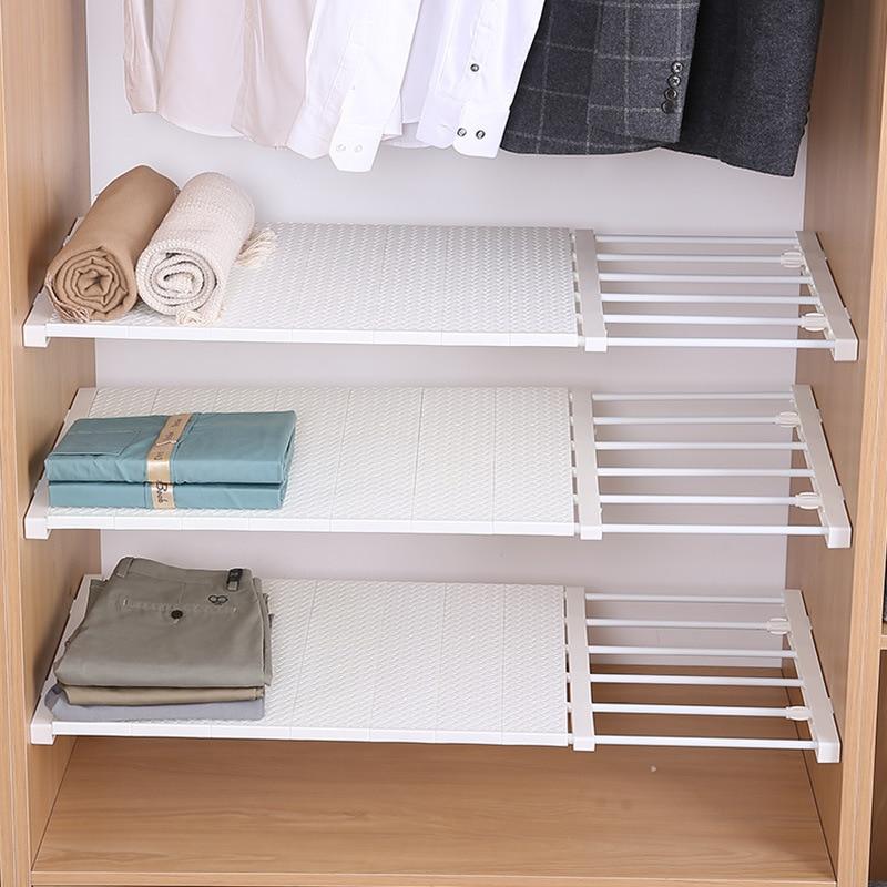Closet Organizer Storage Shelf Wall