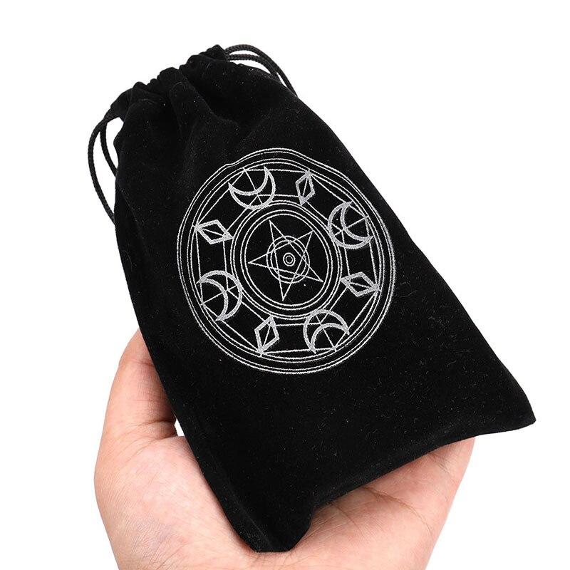 Упаковка для ювелирных изделий, сумки на шнурке, мешочки для игральных костей, Бархатные Мешочки для упаковки подарков, сумка для карт, наст...