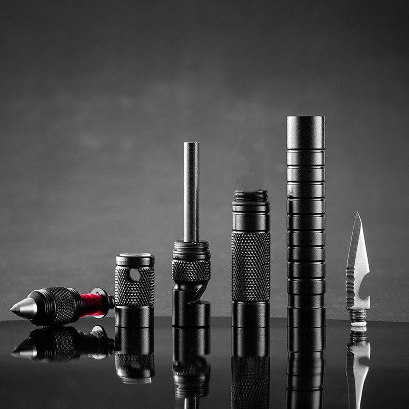 Mini Pistole Jackknife Multitool Messer Taktische Überleben Outdoor Camping Wandern Multi funktion Messer Notfall Pfeife Schlüsselbund|Outdoor-Werkzeuge|   - AliExpress