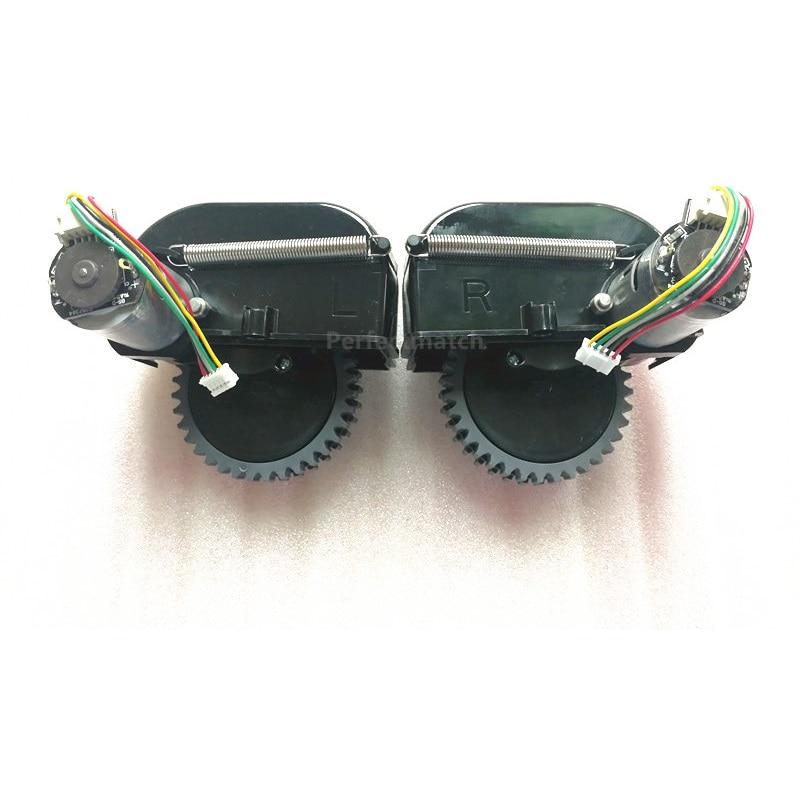 2 шт. оригинальный левый и правый колесо двигатель для chuwi ilife V50 v55 робот пылесос Запчасти ILIFE колеса замена двигателя