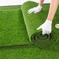 1.5cm de espessura artificial gramado tapete falso relvado grama tapete paisagem almofada diy artesanato decoração do assoalho jardim ao ar livre