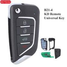 B21 4 KEYDIY Universal KD900 KD900+ URG200 Mini KD KD X2 4 Button Remote Control KD Remote Car Key B21 4