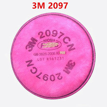 3M 2097 particulate filter  with gas mask 6200, 7502 use series respirator