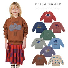 Sweaters Boys Clothing Pullover Long-Sleeve Girls Cute O-Neck Winter Kid's 1Y-11Y Fall
