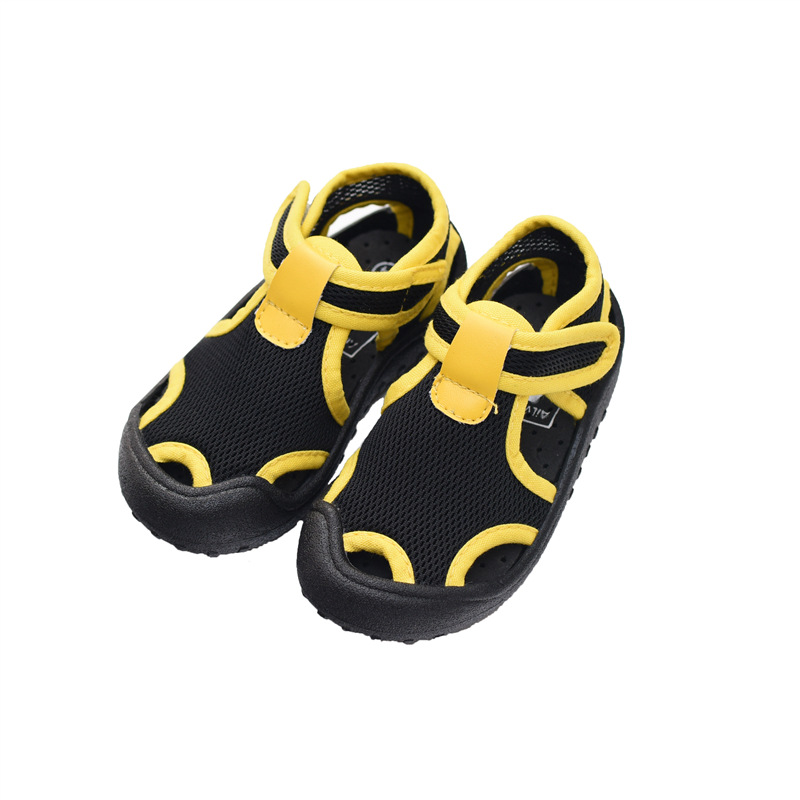 2020 Summer Children's Shoes Boys Girls Sandals Kids 1-8 Years Old Net Shoes Baby Toddler Shoes Soft Bottom Casual Beach Shoes