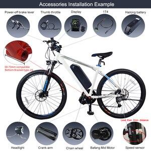 Image 5 - 48V 750W Bafang BBS02B Metà Auto Motore ebike Bici Elettrica Kit di Conversione con 12Ah 17.5Ah 52V 14Ah bicicletta Batteria Cellulare Samsung