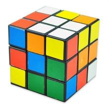 6 Color 3x3x3 Plastic Puzzle Cube Magic Cube Educational Toys Brain Development Toy Children Birthday Gift