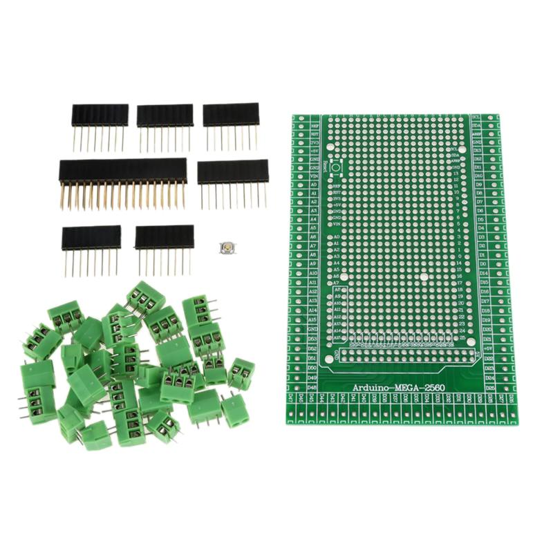 Mega-2560 R31 Prototype Screw Terminal Block Shield Board Kit