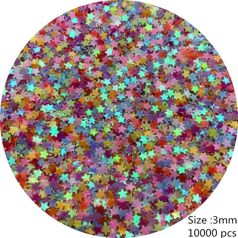 500-10000 chiếc 3-12mm PVC Phẳng Rời Kim Sa Lấp Lánh Paillettes May Cưới Thủ Công Phụ Kiện TỰ LÀM Mặt Dây Chuyền Đầm viền Confetti Móng Tay