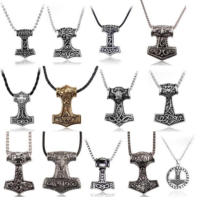Collier nordiques Vikings Thor  1