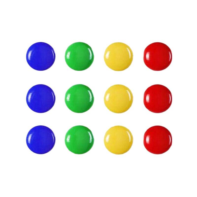 12PCS/Set Notice Board Planning Magnets Fridge Whiteboard Magnetic Button 20Mm