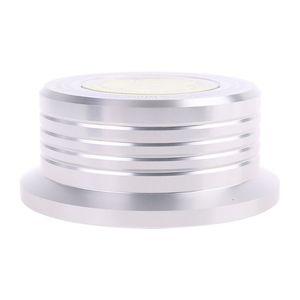 Image 4 - אוניברסלי 50Hz LP ויניל שיא אודיו דיסק פטיפון מייצב אלומיניום משקל מהדק עם מבחן מהירות בועה