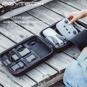 Image 4 - DJI PGYTECH Mavic Ar 2 EVA Casca Dura Bolsa de Ombro À Prova D Água Bolsa para Mavic 2 Ar Drone Acessórios Carry Case caixa de armazenamento