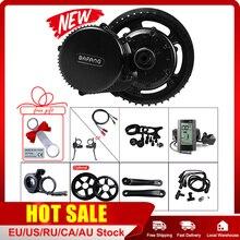 BAFANG Mitte Motor Kits BBS01B 48V 350W E Bike Conversion Kurbel Stick Motor Kits Mit Display 8Fun BBS01B Elektrische Fahrrad Teile