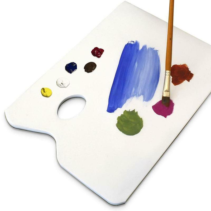 Art Watercolor Plastic Oil Painting Tray Mixing Palette Pack of.. Free Shipping