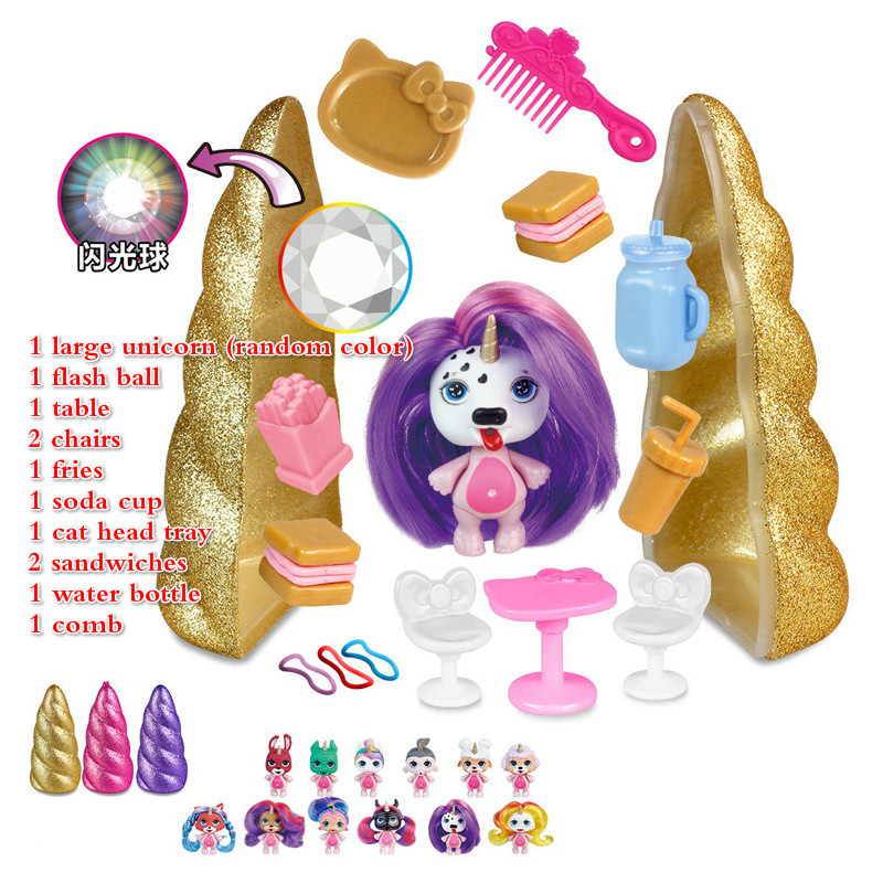 3 Styles Poopsie Slime Unicorn Slime DIY Spit Mucus Doll Toys Hobbies Stress Relief Toy Squeeze For Children Squishy