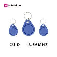 HaChanLun 10шт 13.56 МГц контроля доступа брелок с RFID перезаписываемый копия электронного тега NFC чип-карты, смарт-0 сектор перезаписываемый