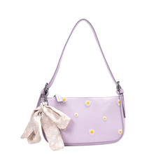 цены Designer Bow Daisy Baguette Bags For Women Casual Crossbody Bags Shoulder Bag Totes Handbags evening clutch purse 2020 new
